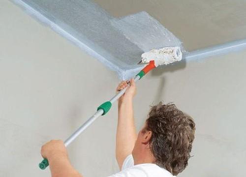Как правильно развести побелку для покраски потолка кистью химстойкие краски изоляционный материалы