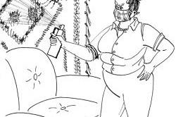 Избавление от блох с помощью дихлофоса