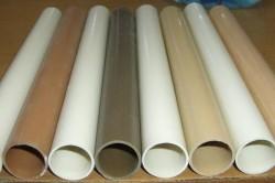 Для сооружения естественной вентиляции необходимы трубы диаметром более 12 см.
