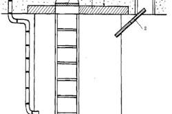 Схема погреба с вытяжными каналами