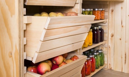 Подвал для хранения овощей