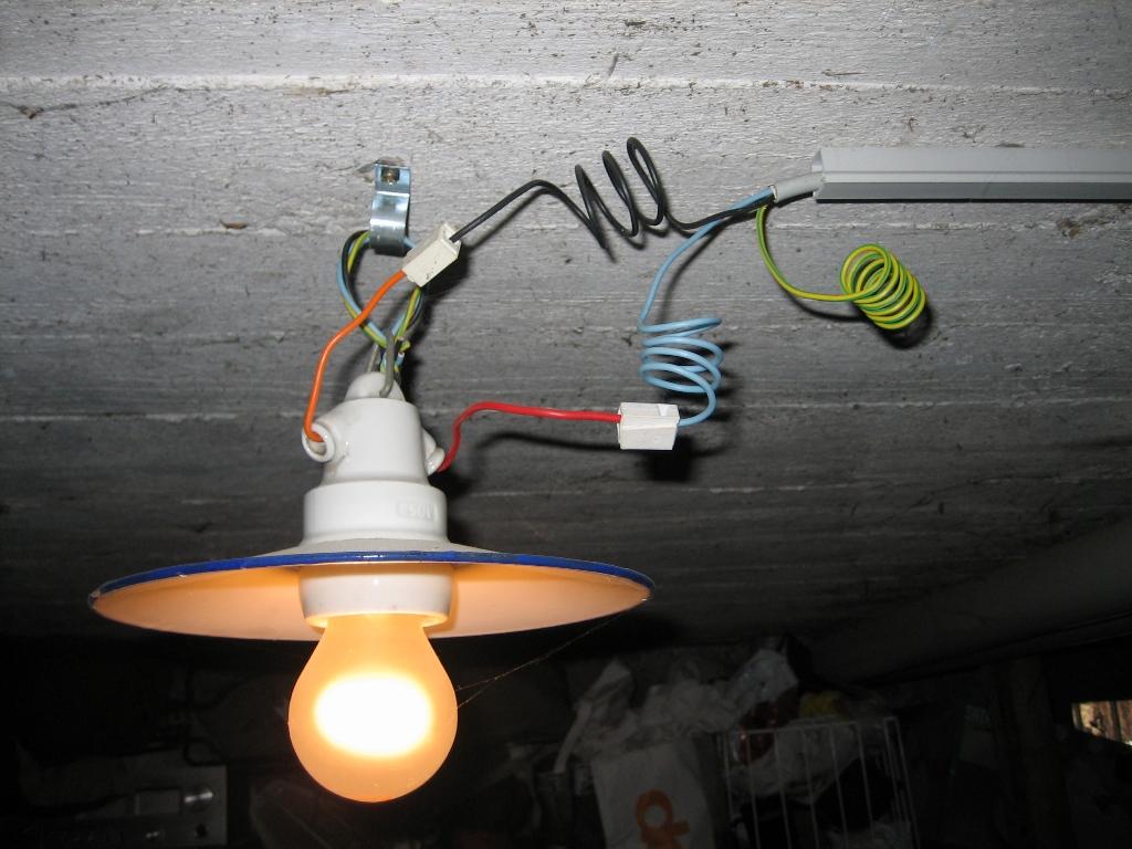 Электропроводка в подвалах