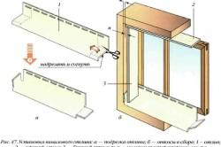 Схема установки винтового отлива