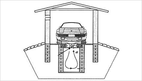 Система вентиляции погреба схема
