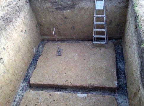 Фундамент под дом с подвалом