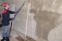 Обработка стен подвала от плесени и грибка
