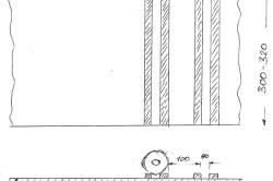 Схема переоборудования съёмной полки в винную.