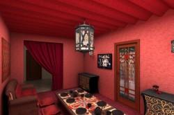 Использование цокольного этажа в качестве комнаты отдыха