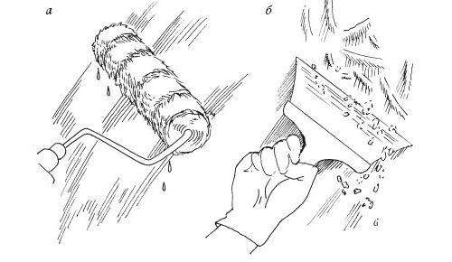 Способы снятия побелки