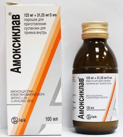 Амоксиклав антибактериальный препарат