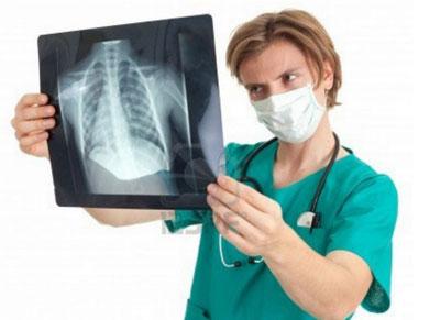 смотр рентгеновского снимка
